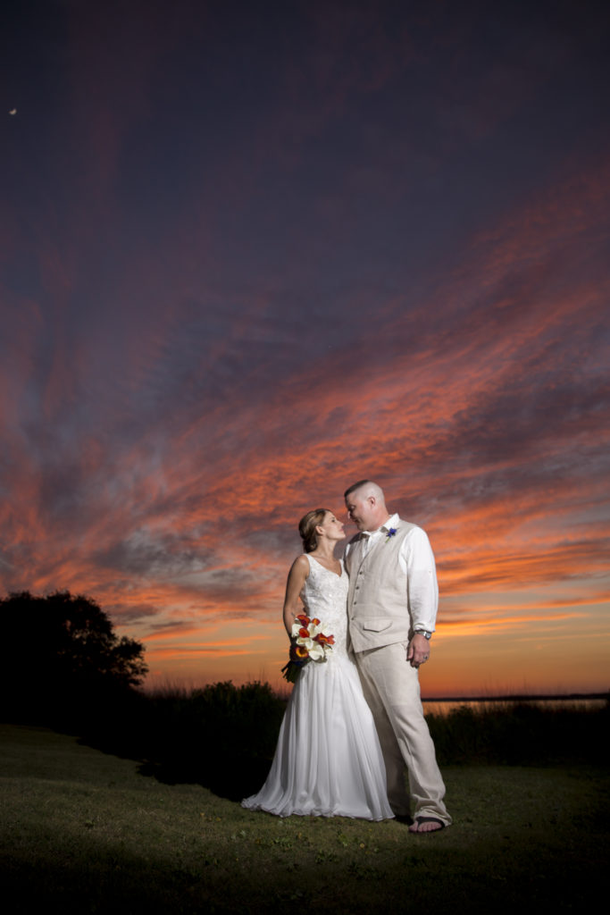 Crystal Coast Country Club Wedding Picture