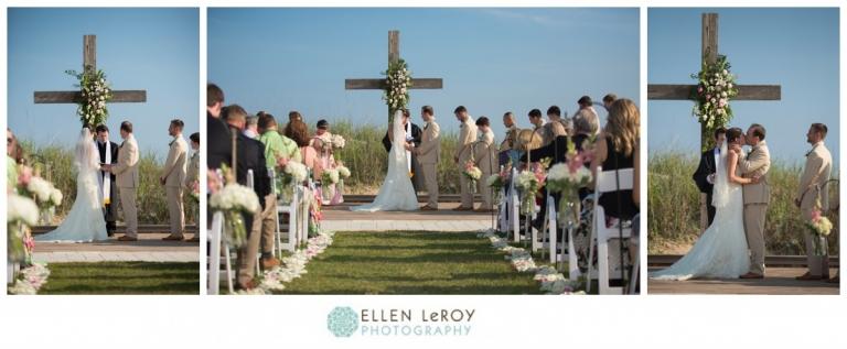 Beachside Wedding Ceremony Site At The C Bay Club In Atlantic Beach