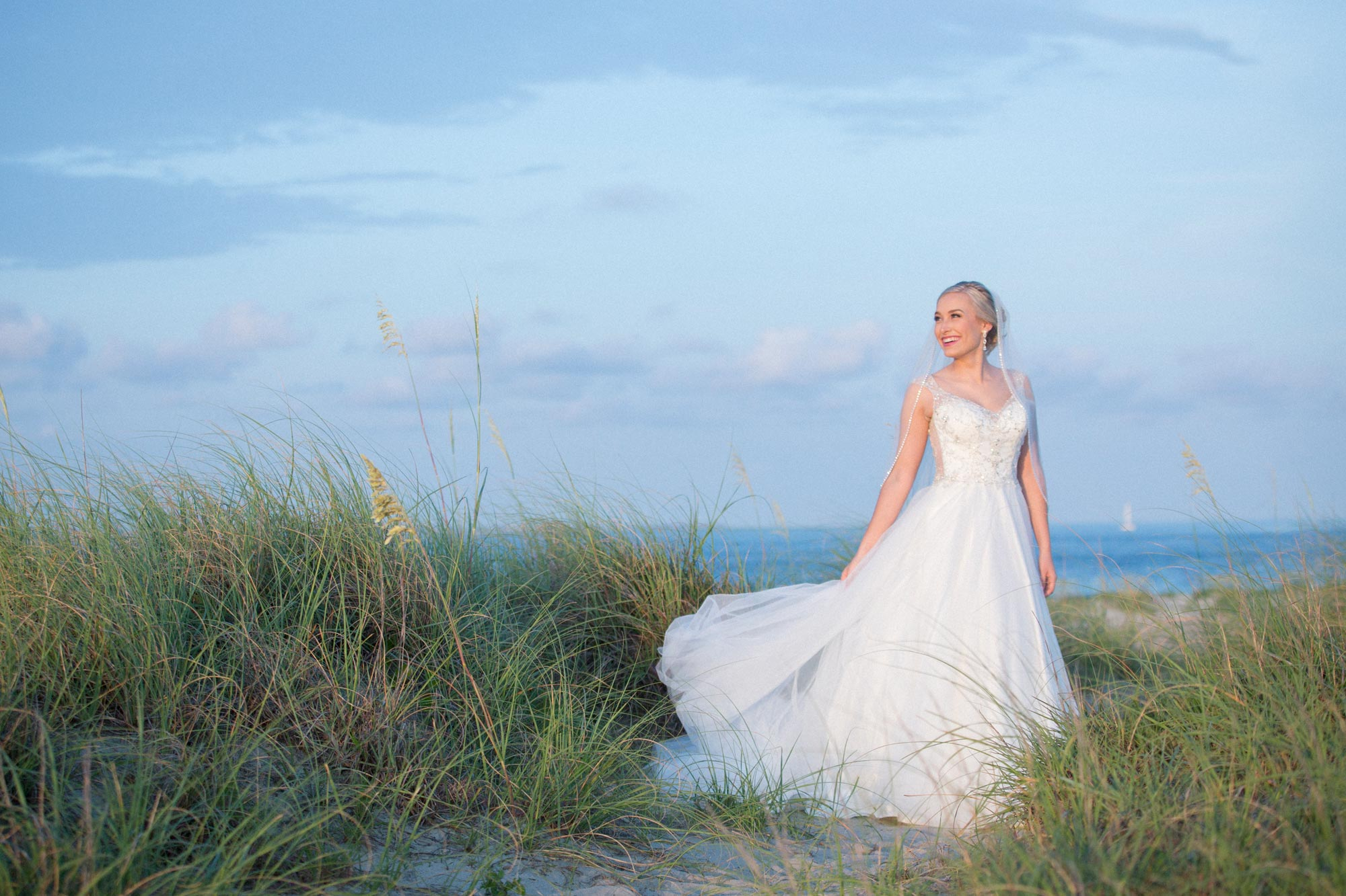 Atlantic Beach NC Bridal Portrait