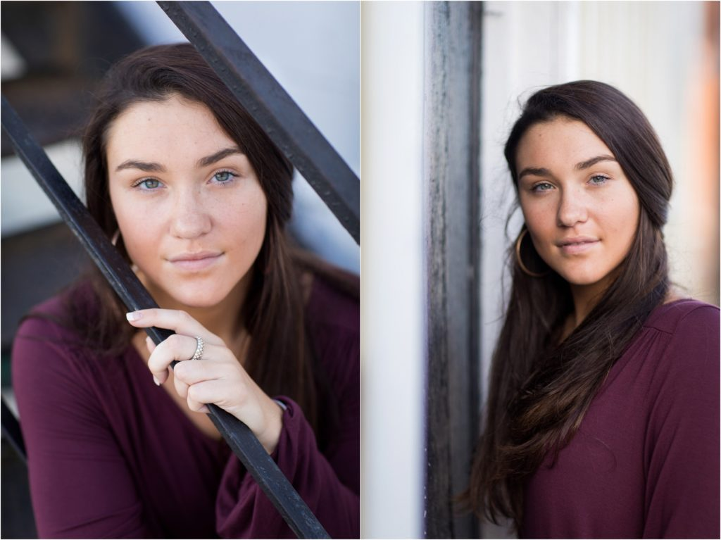 high school senior pictures in Swansboro NC
