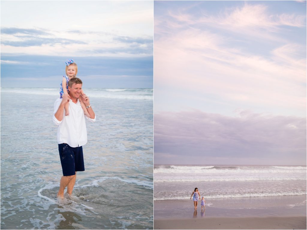 family beach pictures in Emerald Isle