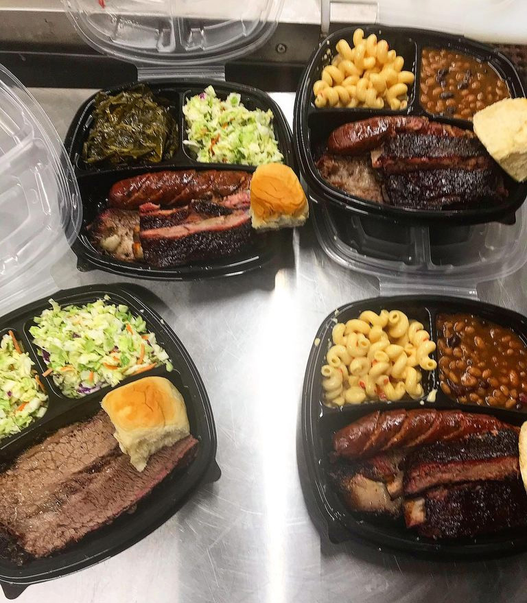 Shepard Barbecue Take Out Plates