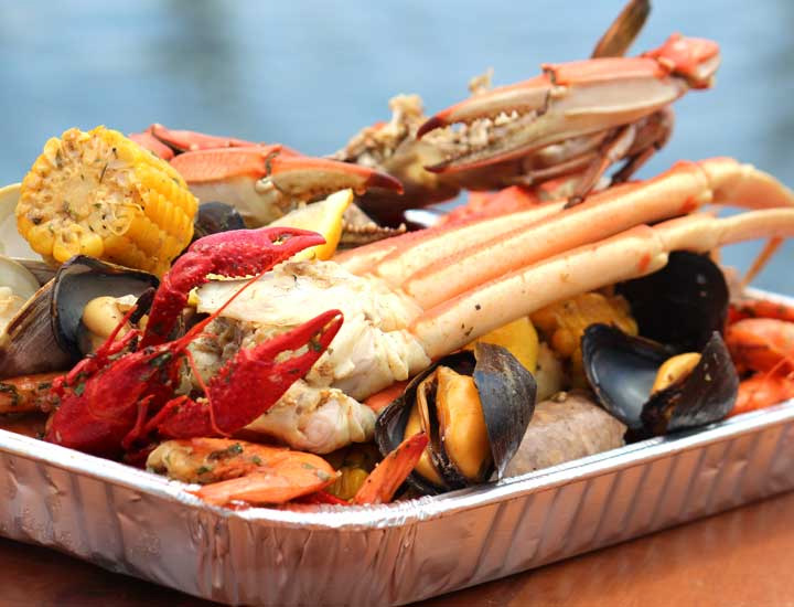 low country boil at boro low country kitchen
